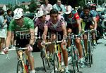 Tour de France 1996 - Andrea Peron (Motorola) Jalabert, Mauri, Stevens-  BettiniPhoto©2011