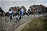 68e Omloop Het Nieuwsblad 2013 - allenamento - Sep Vanmarcke (Blanco ProCycling Team) - Foto PN/BettiniPhoto©2013