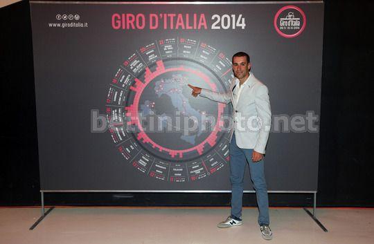Vincenzo Nibali alla presentazione del Giro d'Italia 2014 - © BettiniPhoto 2013