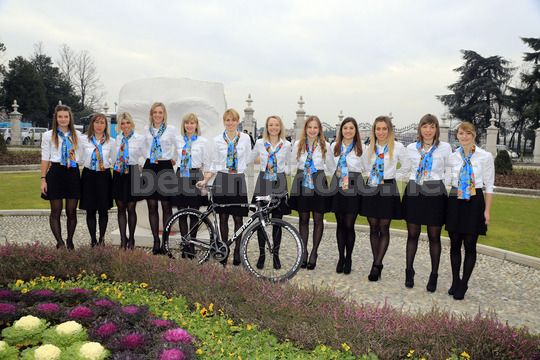 Team Astana-Be Pink 2014 donne