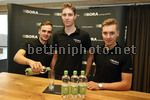Presentazione Team Bora - Argon 18 2015 - 18/11/2014 - Paul Voss - Bjorn Thurau - Dominik Nerz - foto Hennes Roth/BettiniPhoto©2014