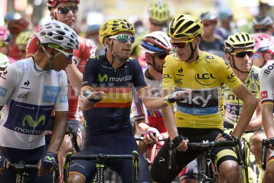 Quintana, Valverde e Froome a colloquio: staranno valutando come affrontare Tour e Vuelta? - © BettiniPhoto