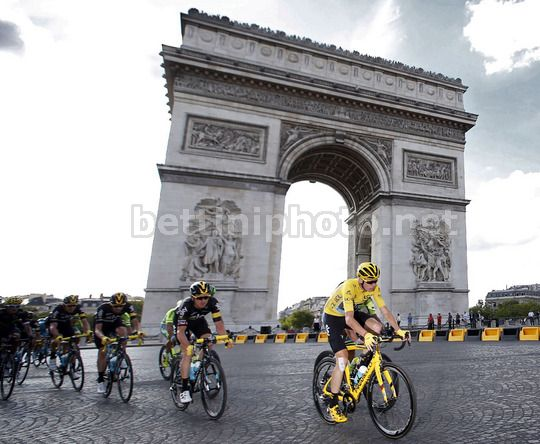 Tour de France 2016 - 103a Edizione - 21a tappa Chantilly - Paris Champs Elysees 113 km - 24/07/2016 - Christopher Froome (Team Sky) - foto Dion Kerckhoffs/CV/BettiniPhoto©2016