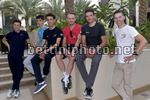 Tour of Oman 2017 - Top Riders Photo Shooting - Muscat - 13/02/2017 - Bob Jungels (LUX - QuickStep - Floors) - Romain Bardet (FRA  - AG2R - La Mondiale) - Fabio Aru (ITA - Astana Pro Team) - Alexander Kristoff (NOR - Katusha - Alpecin) - Greg Van Avermaet