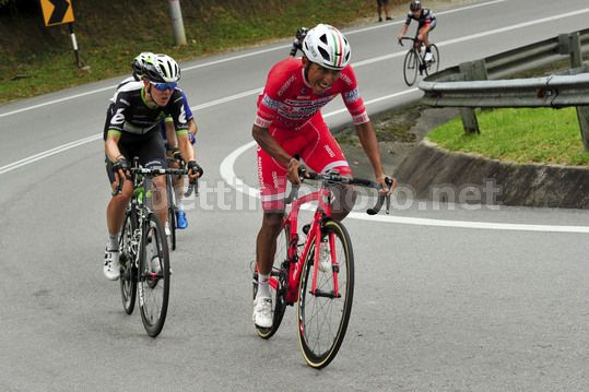 Le Tour de Langkawi 2017 - 21th Edition - 4st stage Seri Manjung - Cameron Highlands 174,4 km - 25/02/2017 - Egan Bernal (COL - Androni Giocattoli - Sidermec) - Photo Dario Belingheri/BettiniPhoto©2017