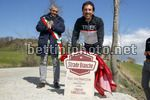 Cancellara's Sector Milestone Ceremony - 03/03/2017 - Paolo Bonari (ITA - Mayor of Aasciano) - Fabian Cancellara (SUI) - photo Luca Bettini/BettiniPhoto©2017