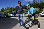 Tirreno Adriatico 2017 - Training - 52th Edition - 07/03/2017 - Matteo Cavazzuti (ITA - Astana Pro Team) - Michele Scarponi (ITA - Astana Pro Team) - photo Dario Belingheri/BettiniPhoto©2017