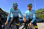 Tirreno Adriatico 2017 - Training - 52th Edition - 07/03/2017 - Moreno Moser (ITA - Astana Pro Team) - Michele Scarponi (ITA - Astana Pro Team) - photo Dario Belingheri/BettiniPhoto©2017