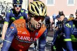 Tirreno Adriatico 2017 - 52th Edition - 4th stage Montalto di Castro - Terminillo 171 km - 11/03/2017 - Giovanni Visconti (ITA - Bahrain - Merida) - photo Dario Belingheri/BettiniPhoto©2017