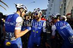 Tirreno Adriatico 2017 - 52th Edition - 6th stage Ascoli Piceno - Civitanova Marche 168 km - 13/03/2017 - Niki Terpstra (NED - QuickStep - Floors) - Fernando Gaviria (COL - QuickStep - Floors) - Iljo Keisse (BEL - QuickStep - Floors) - photo Luca Bettini