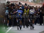Milano Sanremo 2017 - 108th Edition - Milano - Sanremo 291 km - 17/03/2017 - Julian Alaphilippe (FRA - QuickStep - Floors) - Michal Kwiatkowski (POL - Team Sky) - Peter Sagan (SVK - Bora - Hansgrohe) - photo Roberto Bettini/BettiniPhoto©2017