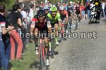 Parigi Roubaix 2017 - 115th Edition - Compiegne - Roubaix  257 km - 09/04/2017 - Greg Van Avermaet (BEL - BMC) - Zdenek Stybar (CZE - QuickStep - Floors) - photo POOL Bernard Papon/BettiniPhoto©2017