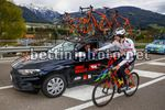 Tour of the Alps 2017 - 41th Edition - 2nd stage Innsbruck - Innervillgraten 181,3 Km - 18/04/2017 - Roberto Damiani (Its - Tirol Cycling Team) - Lucas Schwarz (AUT - Tirol Cycling Team) - photo Luca Bettini/BettiniPhoto©2017