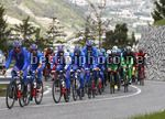 Tour of the Alps 2017 - 41th Edition - 3rd stage Villabassa - Funes 143,1 Km - 19/04/2017 - FDJ - photo Roberto Bettini/BettiniPhoto©2017.