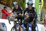 Tour of the Alps 2017 - 41th Edition - 3rd stage Villabassa - Funes 143,1 Km - 19/04/2017 - Geraint Thomas (GBR - Team Sky) - Mikel Landa (ESP - Team Sky) - photo Luca Bettini/BettiniPhoto©2017