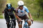 Tour of the Alps 2017 - 41th Edition - 3rd stage Villabassa - Funes 143,1 Km - 19/04/2017 - Domenico Pozzovivo (ITA - AG2R - La Mondiale) - Mikel Landa (ESP - Team Sky) - photo Luca Bettini/BettiniPhoto©2017