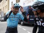Tour of the Alps 2017 - 41th Edition - 3rd stage Villabassa - Funes 143,1 Km - 19/04/2017 - Michele Scarponi (ITA - Astana Pro Team) - Mikel Landa (ESP - Team Sky) - photo Roberto Bettini/BettiniPhoto©2017.