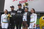 Tour of the Alps 2017 - 41th Edition - 3rd stage Villabassa - Funes 143,1 Km - 19/04/2017 - Geraint Thomas (GBR - Team Sky) - Mikel Landa (ESP - Team Sky) - Domenico Pozzovivo (ITA - AG2R - La Mondiale) - photo Roberto Bettini/BettiniPhoto©2017.