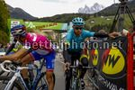 Tour of the Alps 2017 - 41th Edition - 3rd stage Villabassa - Funes 143,1 Km - 19/04/2017 - Michele Scarponi (ITA - Astana Pro Team) - Thibaut Pinot (FRA - FDJ) - photo Luca Bettini/BettiniPhoto©2017