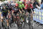 Freccia Vallone 2017 - Huy - Mur du Huy 250 km - 19/04/2017 - Diego Ulissi (ITA - UAE Team Emirates) - Tim Wellens (BEL - Lotto Soudal) - foto POOL Papon/BettiniPhoto©2017