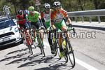 Tour of the Alps 2017 - 41th Edition - 4th stage Bolzano - Cles 165,3 Km - 20/04/2017 - Stefano Pirazzi (ITA - Bardiani - CSF) - Simone Andreetta (ITA - Bardiani - CSF) - photo Luca Bettini/BettiniPhoto©2017