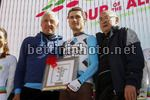 Tour of the Alps 2017 - 41th Edition - 5th stage Smarano - Trento 192,5 Km - 21/04/2017 - Hubert Dupont (FRA  - AG2R - La Mondiale) - Francesco Moser - photo Roberto Bettini/BettiniPhoto©2017