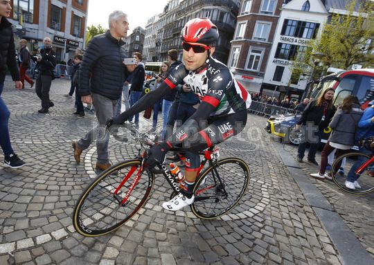 Liege - Bastogne - Liege 2017 - 258 km  - 23/04/2017 - Diego Ulissi (ITA - UAE Team Emirates) - Photo Luca Bettini/BettiniPhoto©2017