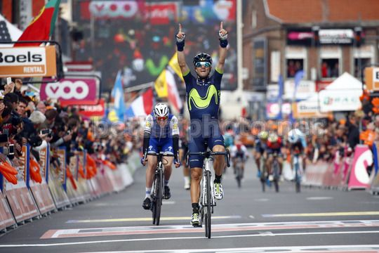 Liege - Bastogne - Liege 2017 - 258 km  - 23/04/2017 - Alejandro Valverde (ESP - Movistar) - Photo Luca Bettini/BettiniPhoto©2017