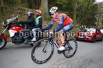 Liege - Bastogne - Liege 2017 - 103th Edition - Liegi - Ans 258 km - 23/04/2017 - Luka Pibernik (SLO - Bahrain - Merida) - photo Luca Bettini/BettiniPhoto©2017