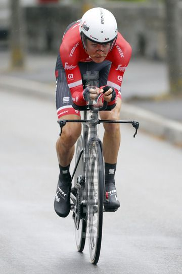 Tour de Romandie 2017 - Prologue Aigle - Aigle 4.8 km - 25/04/2017 - Peter Stetina (USA - Trek - Segafredo) - Photo Luis Angel Gomez/BettiniPhoto©2017