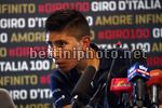 Giro d'Italia 2017 - 100th Edition - Press Conference - 04/05/2017 - Nairo Quintana (COL - Movistar) - photo Luca Bettini/BettiniPhoto©2017