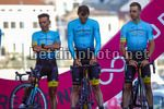 Giro d'Italia 2017 - 100th Edition - Team Presentation - Alghero - 04/05/2017 - Paolo Tiralongo (ITA - Astana Pro Team) - Luis Leon Sanchez (ESP - Astana Pro Team) - photo Luca Bettini/BettiniPhoto©2017