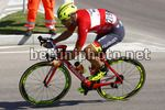 Giro d'Italia 2017 - 100th Edition - 1st stage Alghero - Olbia 208 km - 05/05/2017 - Eugert Zhupa (ALB - Wilier Selle Italia) - photo Roberto Bettini/BettiniPhoto©2017