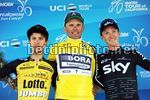 Tour of California 2017 - 2nd stage Modesto - San Jose.143 km - 15/05/2017 - George Bennett (AUS - LottoNL - Jumbo) - Rafal Majka (POL - Bora - Hansgrohe) - Ian Boswell (USA - Team Sky) - photo Brian Hodens/BettiniPhoto©2017