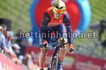 Giro d'Italia 2017 - 100th Edition - 10th stage Foligno - Montefalco 39.8 km - 15/05/2017 - Luka Pibernik (SLO - Bahrain - Merida) - photo Ilario Biondi/BettiniPhoto©2017