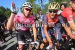Giro d'Italia 2017 - 100th Edition - 11th stage Firenze - Bagno di Romagna 161 km - 17/05/2017 - Tom Dumoulin (NED - Team Sunweb) - Vincenzo Nibali (ITA - Bahrain - Merida) - photo Ilario Biondi/BettiniPhoto©2017
