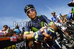 Giro d'Italia 2017 - 100th Edition - 15th stage Valdengo - Bergamo 199 km - 21/05/2017 - Nairo Quintana (COL - Movistar) - photo Luca Bettini/BettiniPhoto©2017