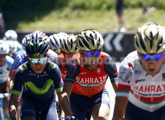 Giro d'Italia 2017 - 100th Edition - 19th stage San Candido - Piancavallo 191 km - 26/05/2017 -  Vincenzo Nibali (ITA - Bahrain - Merida) - Nairo Quintana (COL - Movistar) - Photo Luca Bettini/BettiniPhoto©2017