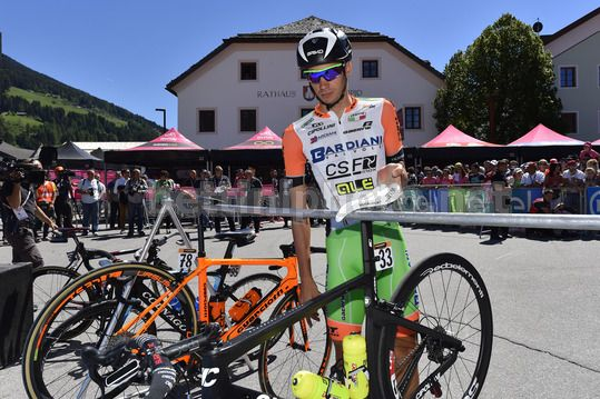 Giro d'Italia 2017 - 100th Edition - 19th stage San Candido - Piancavallo 191 km - 26/05/2017 - Simone Andreetta (ITA - Bardiani - CSF) - Photo Dario Belingheri/BettiniPhoto©2017