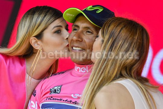 Giro d'Italia 2017 - 100th Edition - 19th stage San Candido - Piancavallo 191 km - 26/05/2017 - Nairo Quintana (COL - Movistar) - Photo Dario Belingheri/BettiniPhoto©2017