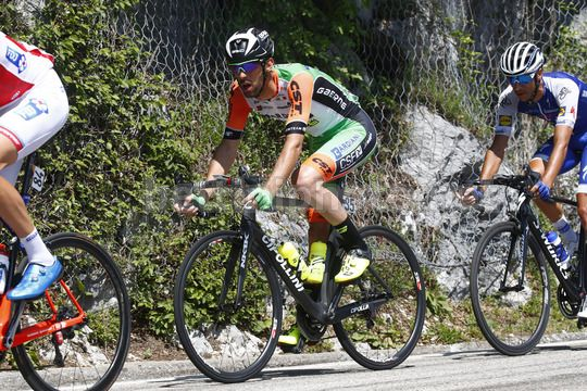 Giro d'Italia 2017 - 100th Edition - 19th stage San Candido - Piancavallo 191 km - 26/05/2017 - Nicola Boem (ITA - Bardiani - CSF) - Photo Luca Bettini/BettiniPhoto©2017