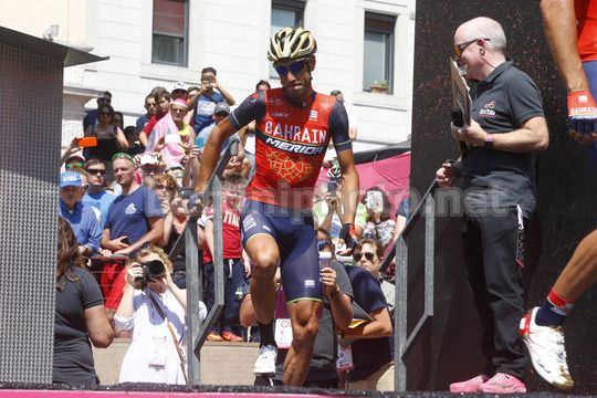 Giro d'Italia 2017 - 100th Edition - 20th stage Pordenone - Asiago 190 km - 27/05/2017 - Vincenzo Nibali (ITA - Bahrain - Merida) - Photo Roberto Bettini/BettiniPhoto©2017