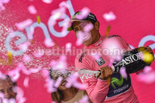 Giro d'Italia 2017 - 100th Edition - 20th stage Pordenone - Asiago 191 km - 27/05/2017 - Nairo Quintana (COL - Movistar) - Photo Dario Belingheri/BettiniPhoto©2017