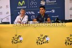 Tour de France 2017 - 104th Edition - Press Conference - 30/06/2017 - Eusebio Unzue (ESP - Movistar) - Nairo Quintana (COL - Movistar) - photo TDW/BettiniPhoto©2017