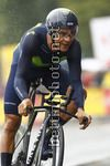 Tour de France 2017 - 104th Edition - 1st stage Dusseldorf - Dusseldorf 14 km - 01/07/2017 - Andrey Amador (CRI - Movistar) - photo Luca Bettini/BettiniPhoto©2017
