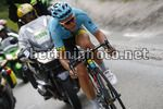 Tour de France 2017 - 104th Edition - 8th stage  Dole - Sation des Rousses 187.5 km - 08/07/2017 - Michael Valgren (DEN - Astana Pro Team) - photo Luca Bettini/BettiniPhoto©2017