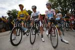 Tour de France 2017 - 104th Edition - 8th stage  Dole - Sation des Rousses 187.5 km - 08/07/2017 - Christopher Froome (GBR - Team Sky) - Simon Yates (GBR - ORICA - Scott) - Fabio Aru (ITA - Astana Pro Team) - photo Luca Bettini/BettiniPhoto©2017