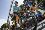Tour de France 2017 - 104th Edition - 8th stage  Dole - Sation des Rousses 187.5 km - 08/07/2017 - Andrei Grivko (UKR - Astana Pro Team) - photo Luca Bettini/BettiniPhoto©2017