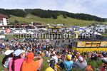 Tour de France 2017 - 104th Edition - 8th stage  Dole - Sation des Rousses 187.5 km - 08/07/2017 - Simon Yates (GBR - ORICA - Scott) - Scenery - Fans - Podium - photo TDW/BettiniPhoto©2017