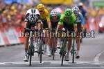 Tour de France 2017 - 104th Edition - 9th stage  Nantua - Chambery 181.5 km - 09/07/2017 - Rigoberto Uran (COL - Cannondale - Drapac) - Warren Barguil (FRA - Team Sunweb) - photo TDW/BettiniPhoto©2017